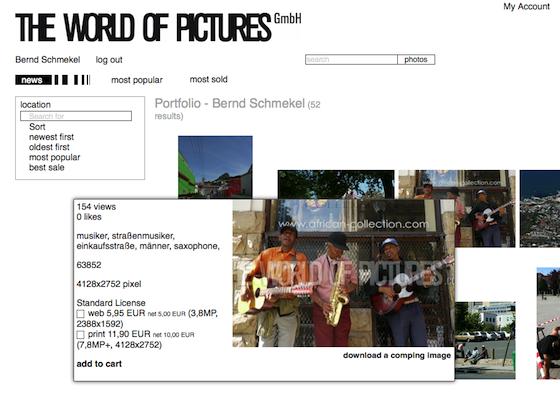 Bild 2 Neue Features auf der Webseite