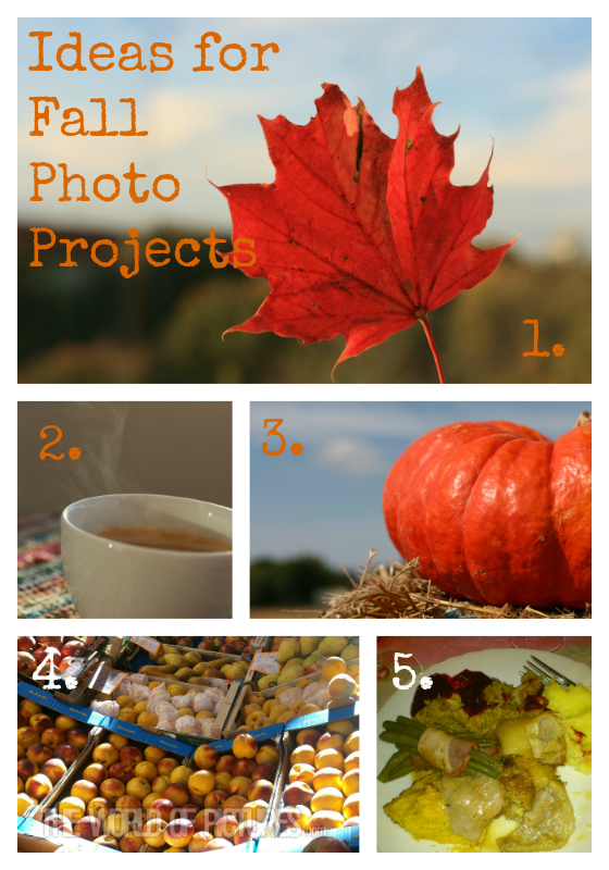 fallphotocollage Ideas for Fall Photo Projects