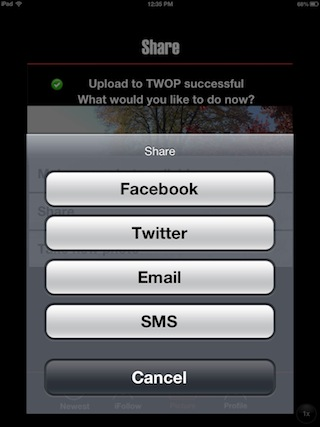 photo 3 Die TWOP App   Update 1.2